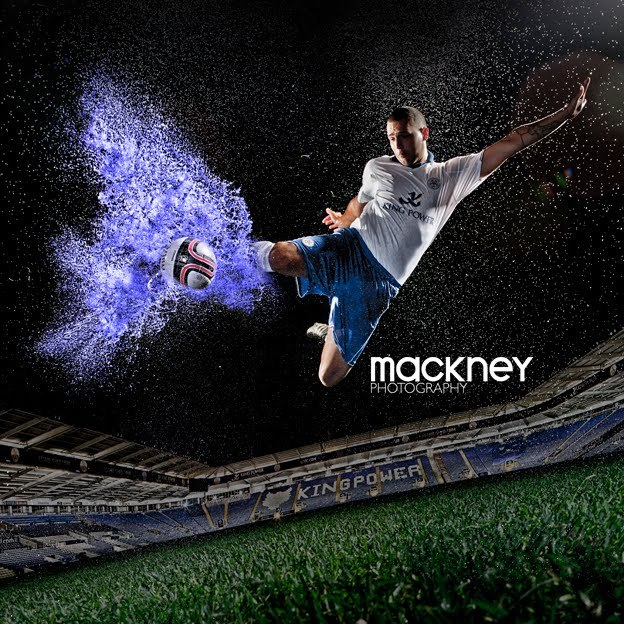 A Photoshoot with Leicester City FC Photo Design