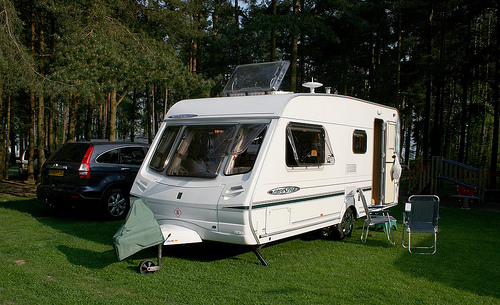 Blackwall Plantation Caravan Club Site