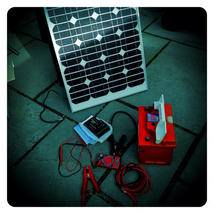 The Really NOT Very Mobile Solar Project