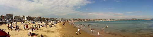 Weymouth on Good Friday (Panoramic)