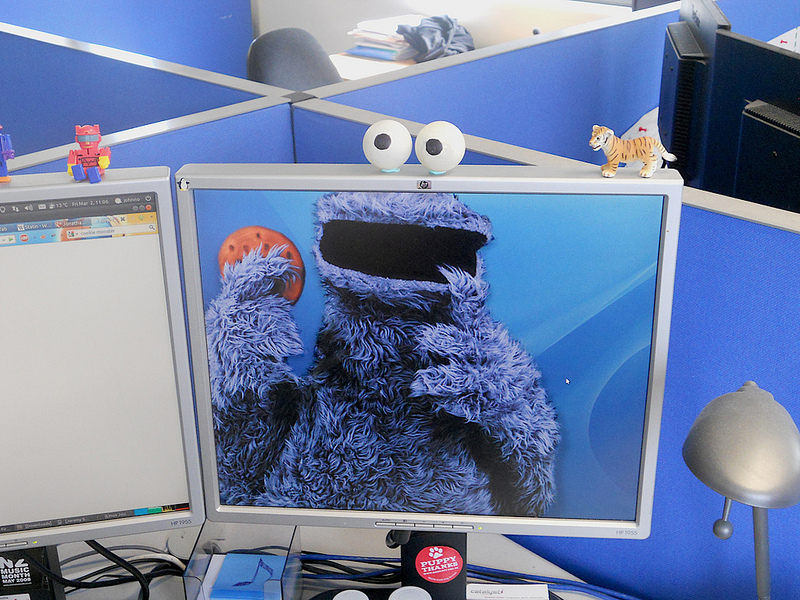 The Cookie Monster is in - 2012-03-02