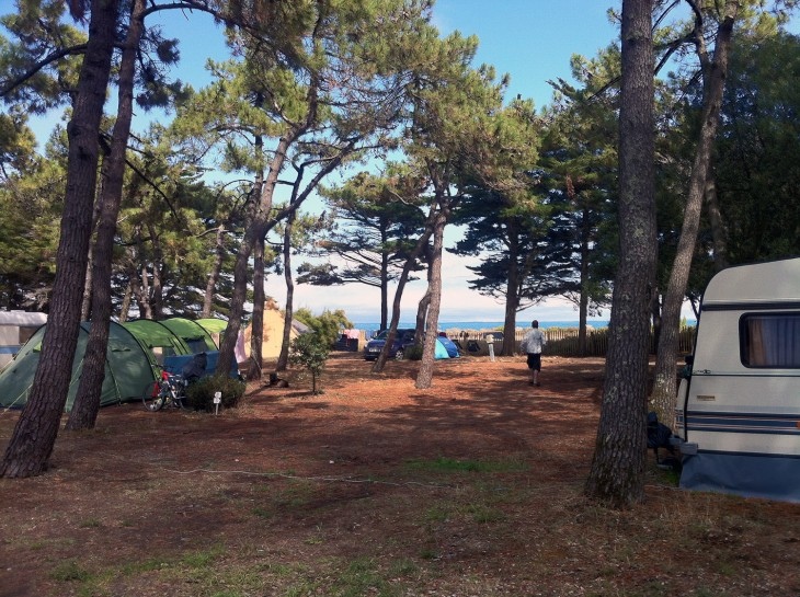 The campsite at INDIGO NOIRMOUTIER