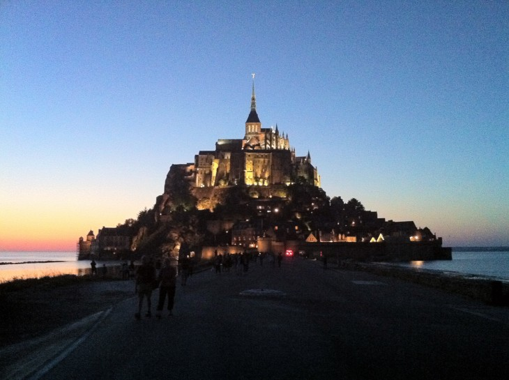 Mont Saint Michel in France