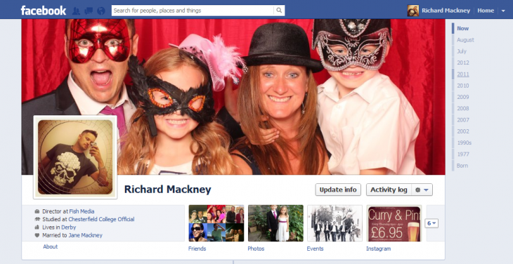 Facebook Cover Photo - Desktop Version