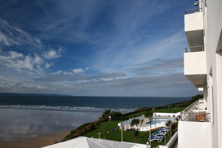 A View From The Saunton Sands Hotel Photo Devon