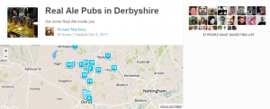 Real Ale Pubs in Derbyshire