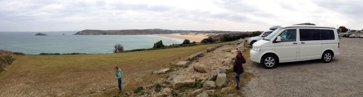 iPhone Panoramic from Cornwall