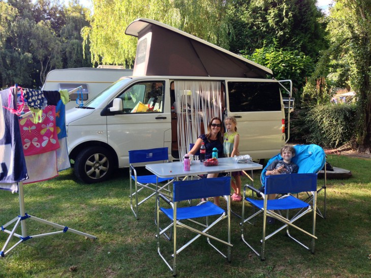 Camping in France