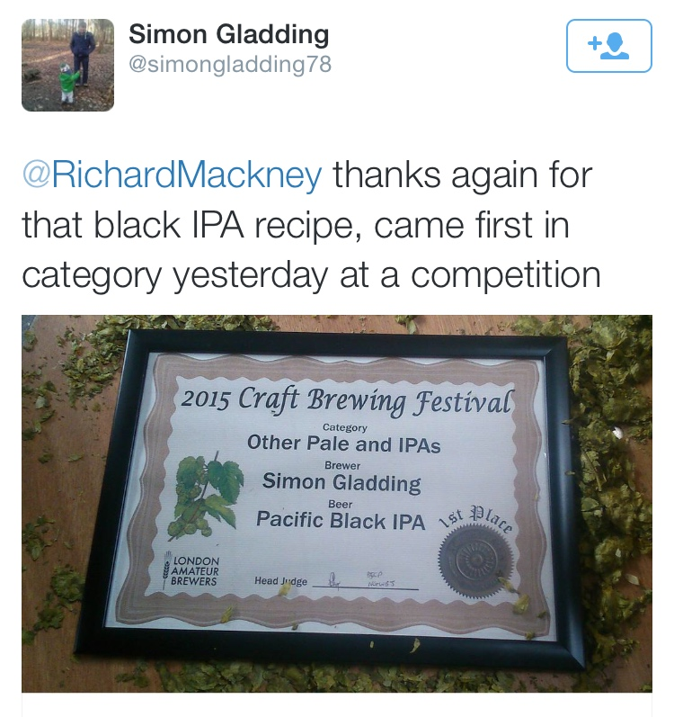 Award Winning Black IPA