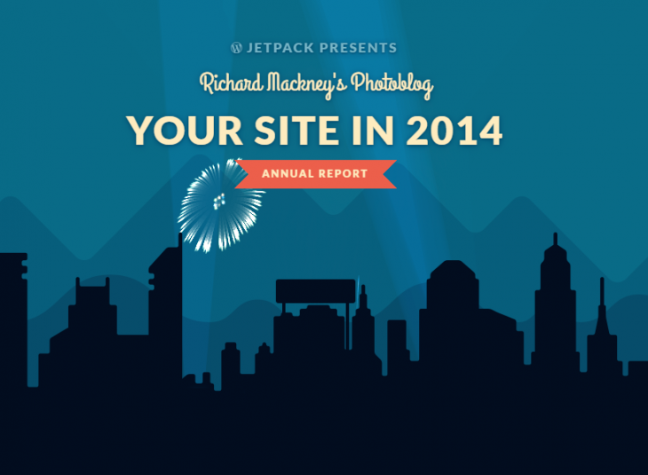 Your 2014 year in blogging