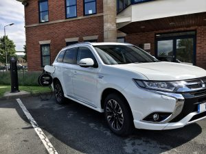 Mitsubishi Outlander PHEV Electric Plug in Charging