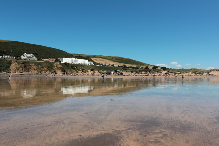 Reflections on Saunton Sands